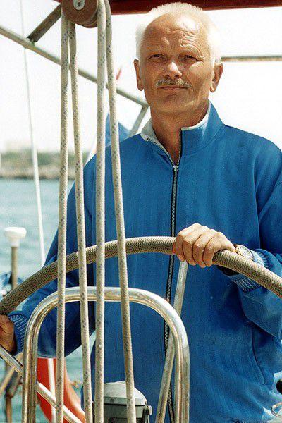 яхтенный капитан Зигмас Жилайтис.