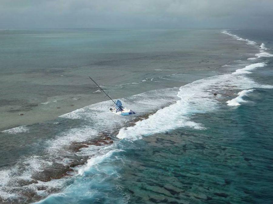 крушение парусной яхты