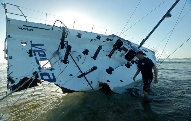 крушение яхты