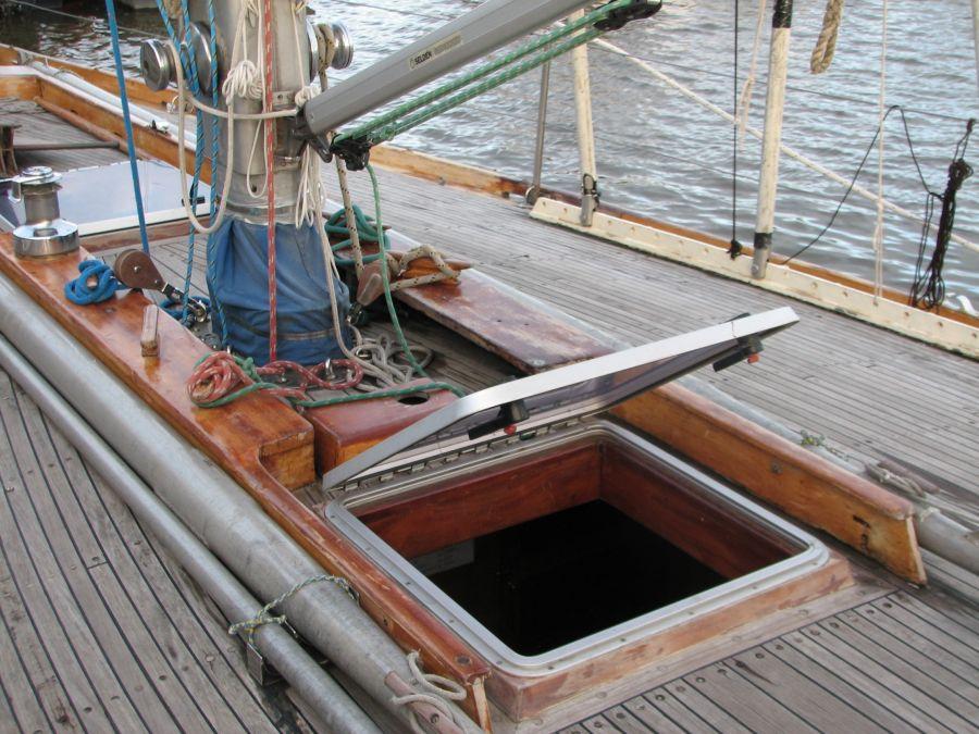 палуба яхты «Русь»
