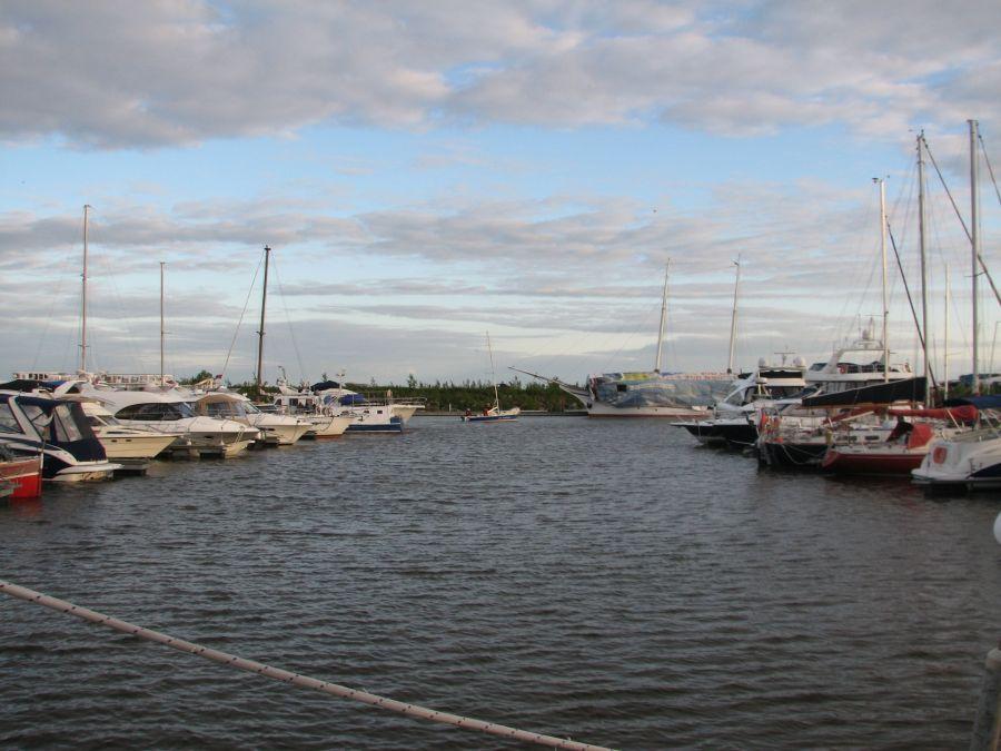 Начало плавания в порту Геркулес