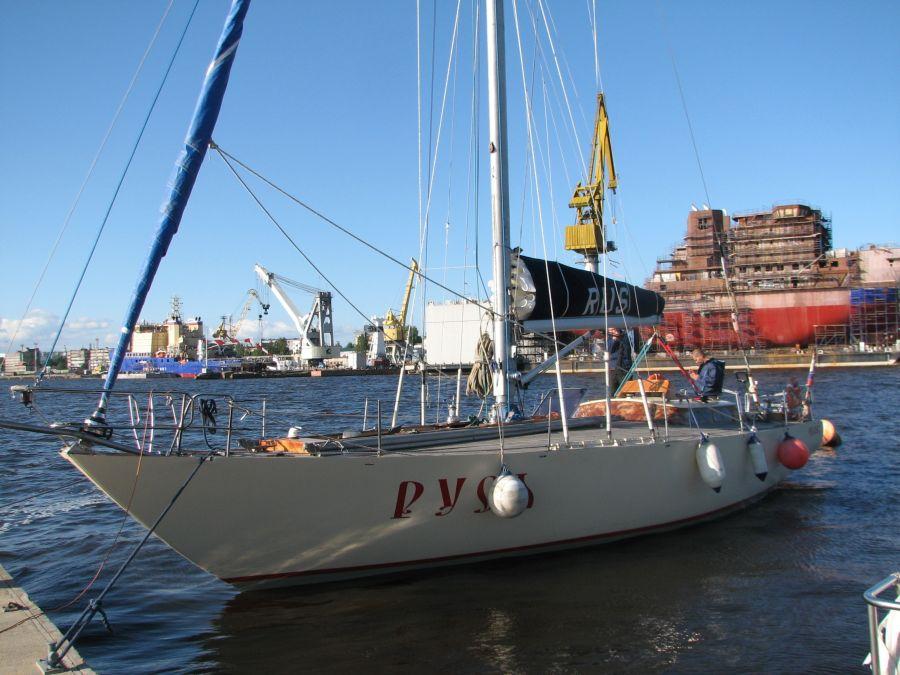 Санкт-Петербургская яхта «Русь»