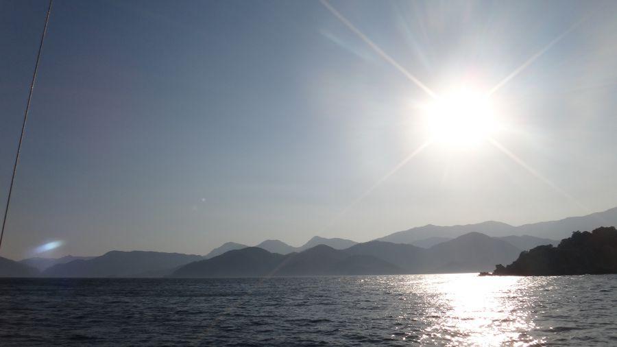 яхта Турция