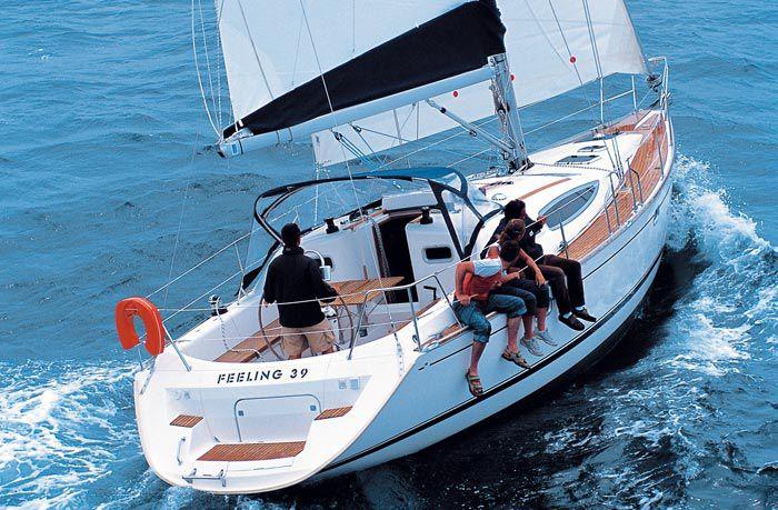 яхта палуба