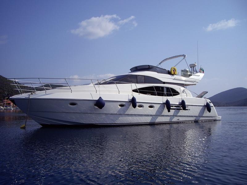 Моторная яхта Azimut 52