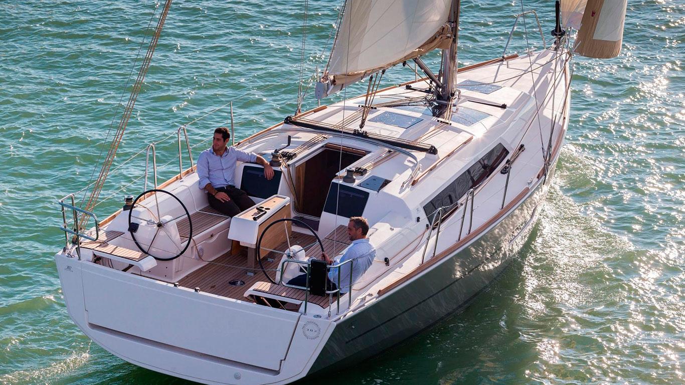 Парусная яхта Dufour 382 GL
