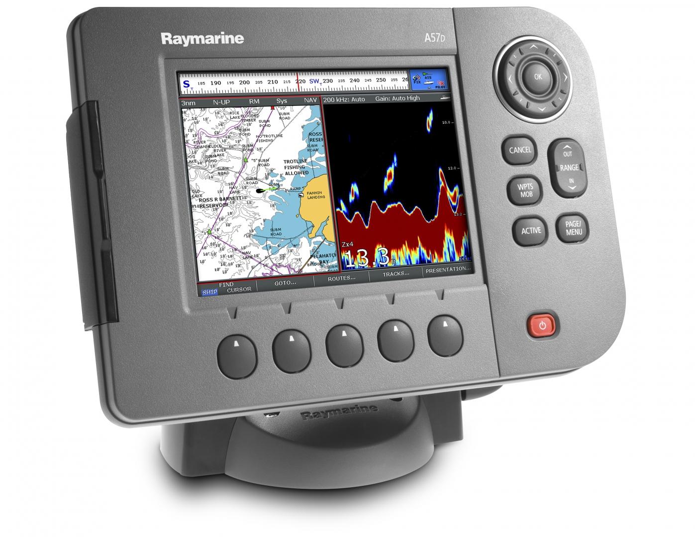 Картплоттер-эхолот Raymarine A57D