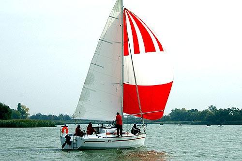 Парусная яхта Лео 28