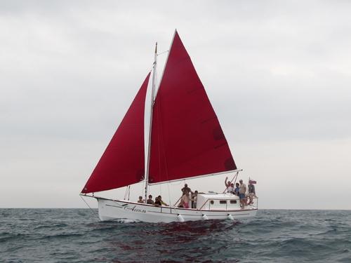 Парусная яхта Анапа 30