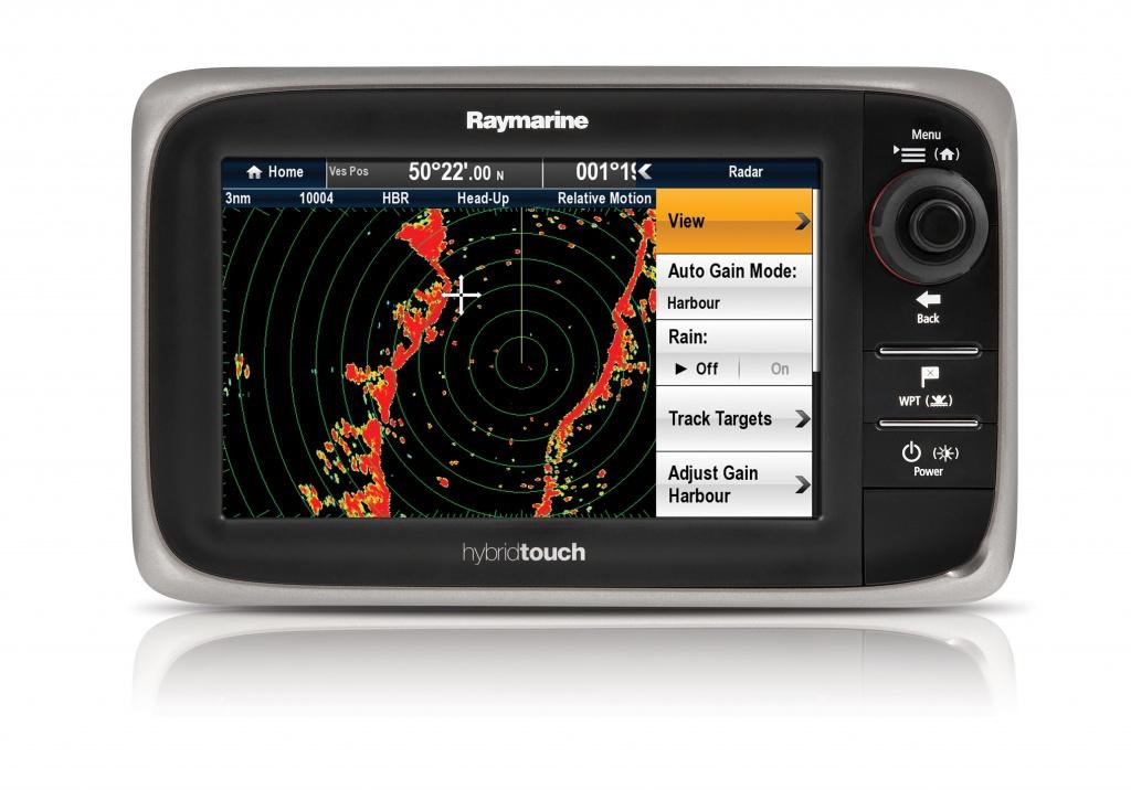 Сетевой многофункциональный дисплей Raymarine E7D