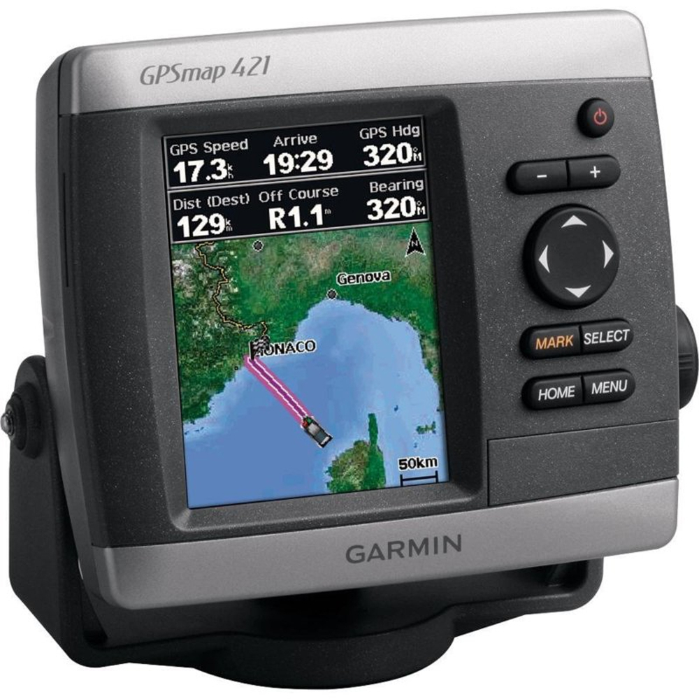 Картплоттер Garmin GPSMap 421S Dual Frequency