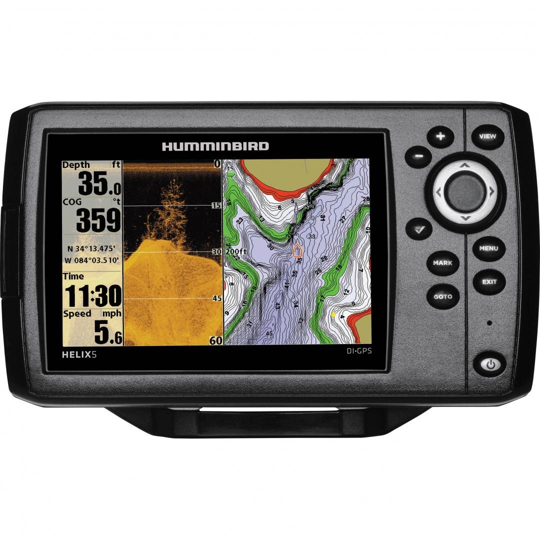 Картплоттер-эхолот Humminbird Helix 5x DI GPS