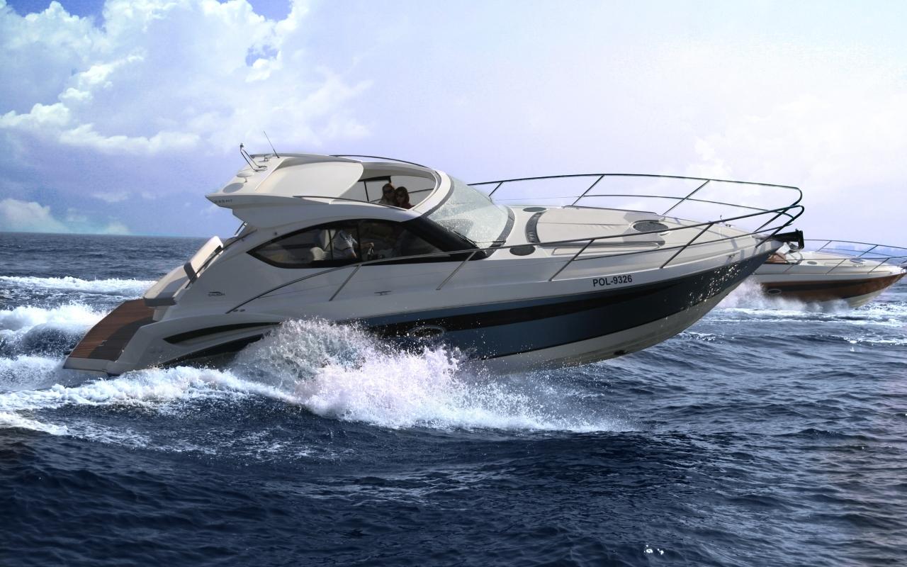 Моторная яхта Galeon 325 HTS