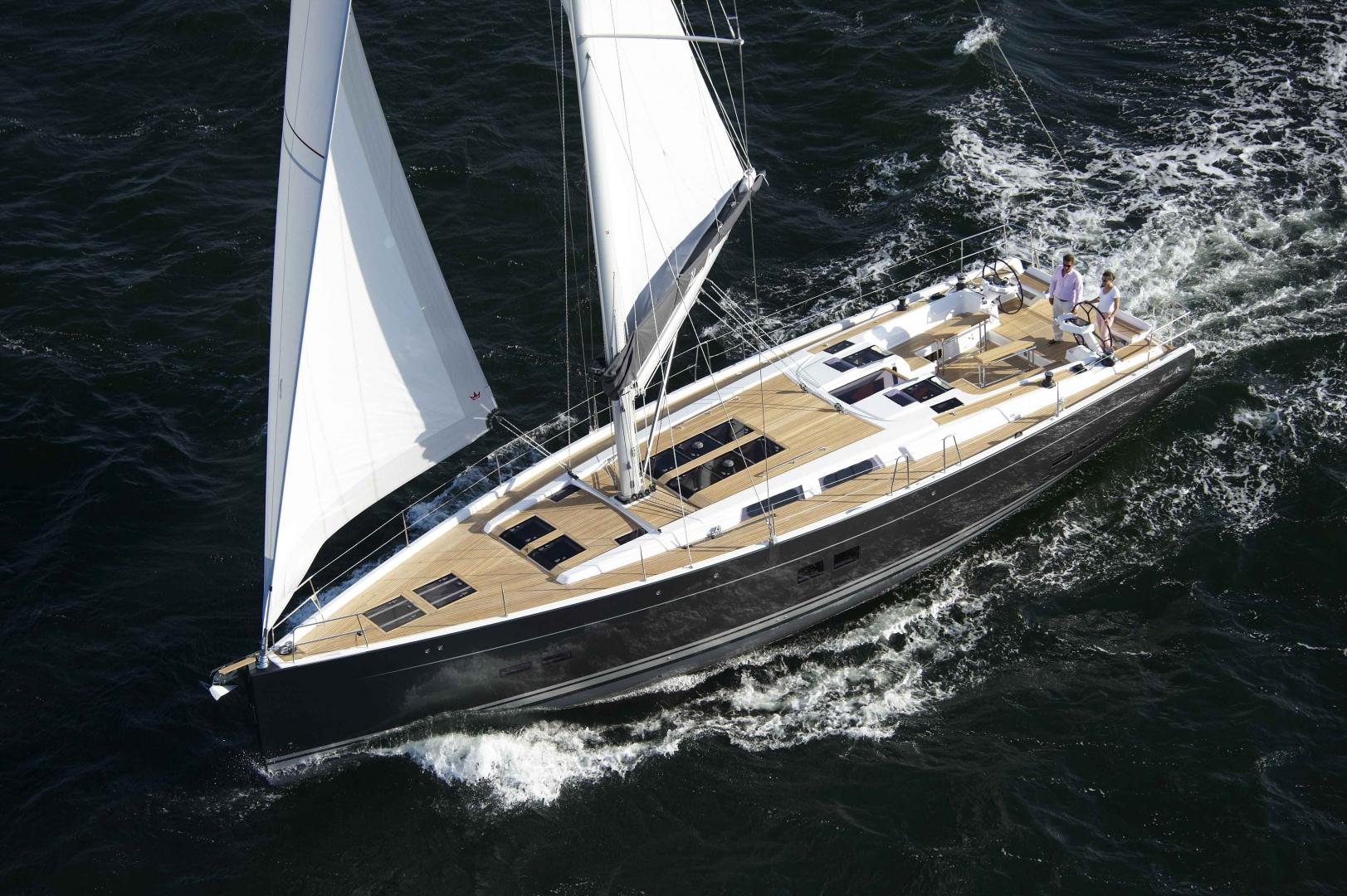 Парусная яхта Hanse 575
