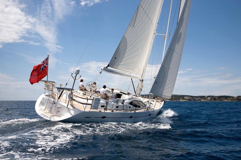 Парусная яхта Oyster 575