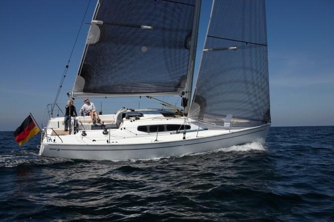 Парусная яхта Dehler 35