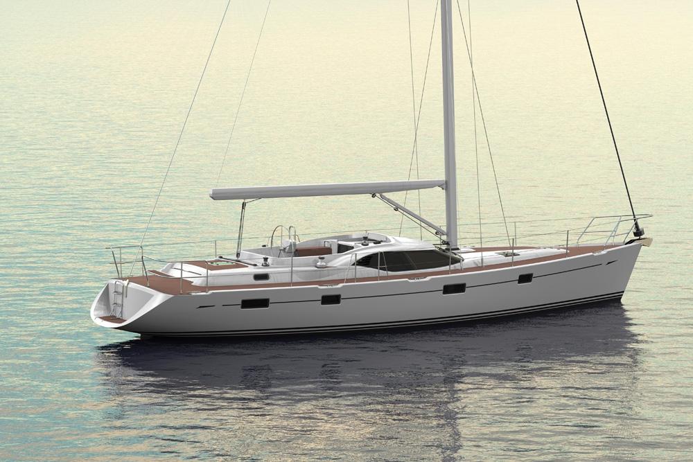 Парусная яхта Oyster 54