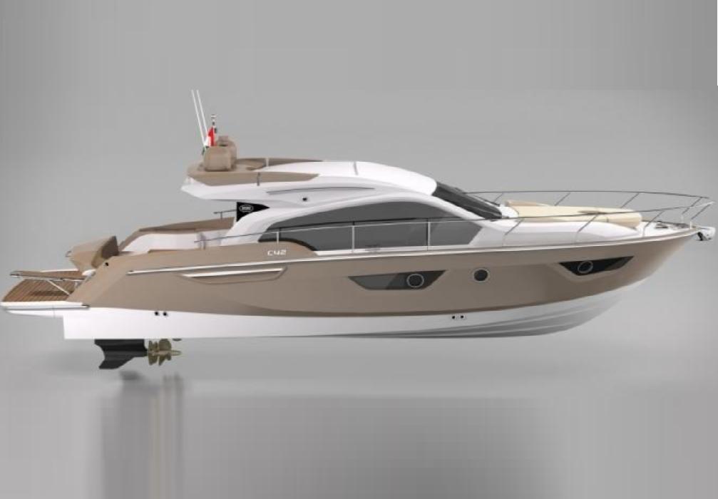 Моторная яхта Sessa Marine С 42