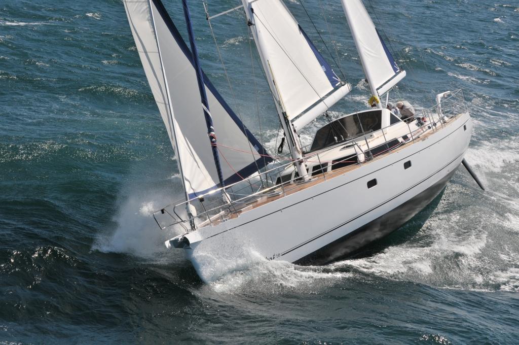 Парусная яхта Alubat 58