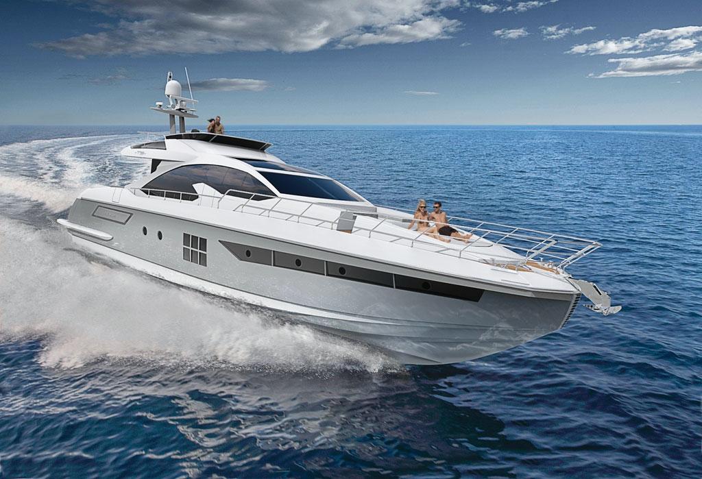 Моторная яхта Azimut 77S