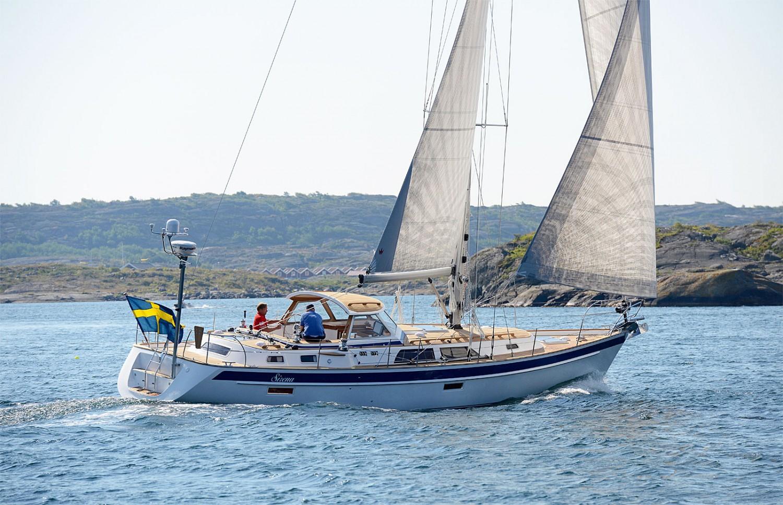 Парусная яхта Hallberg-Rassy 43 Mk III