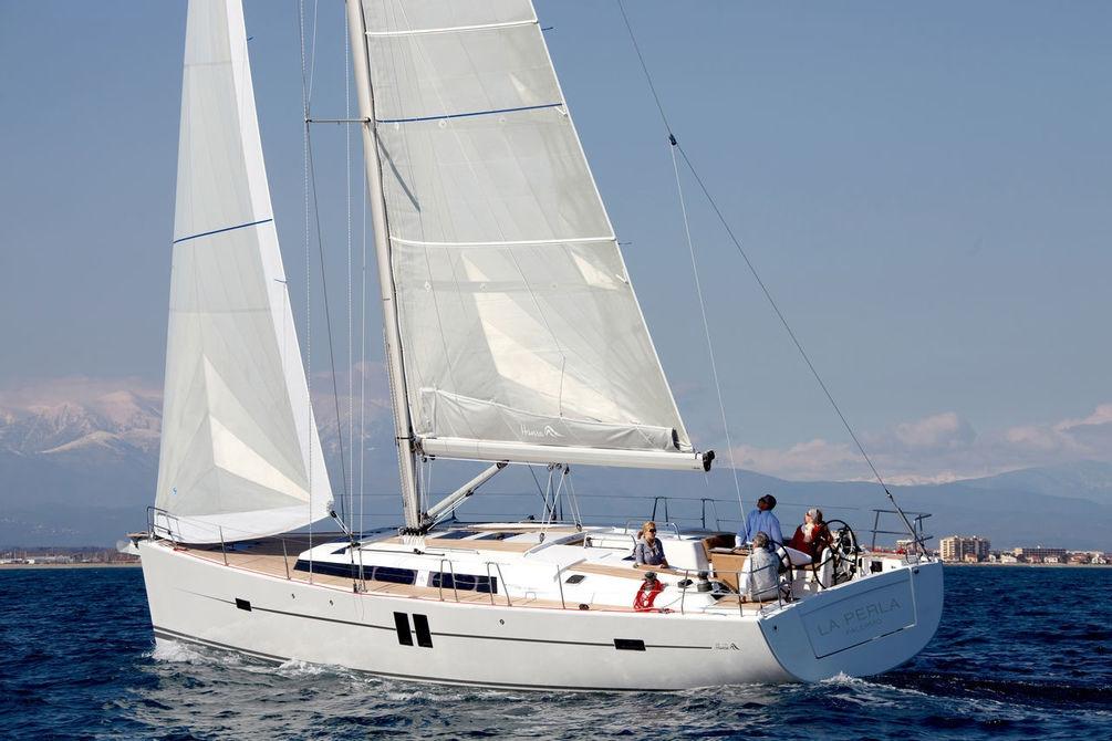 Парусная яхта Hanse 495