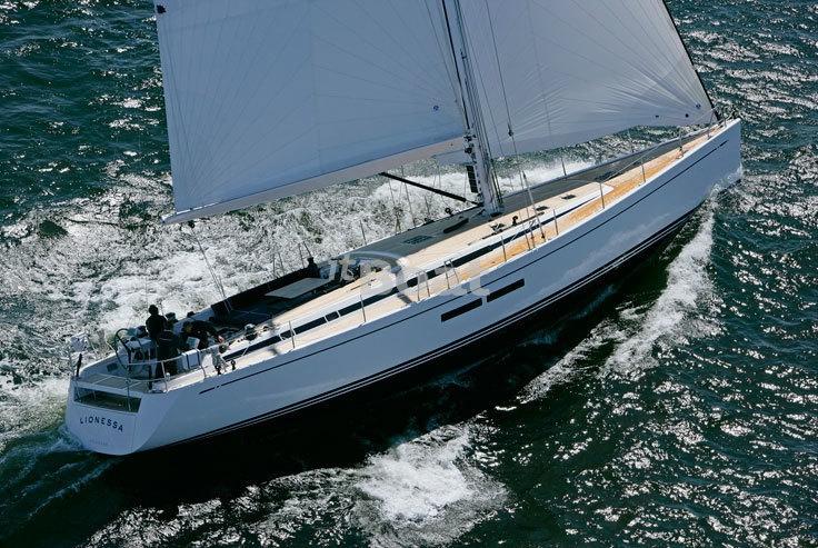 Парусная яхта Nautor`s Swan 66