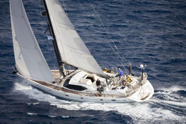 Парусная яхта Oyster 655