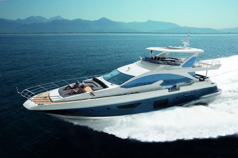 Моторная яхта Azimut 80