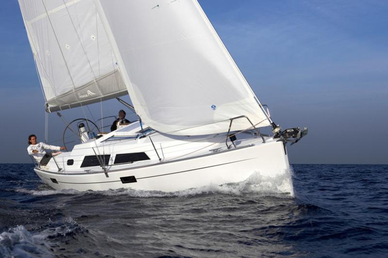 Парусная яхта Hanse 320