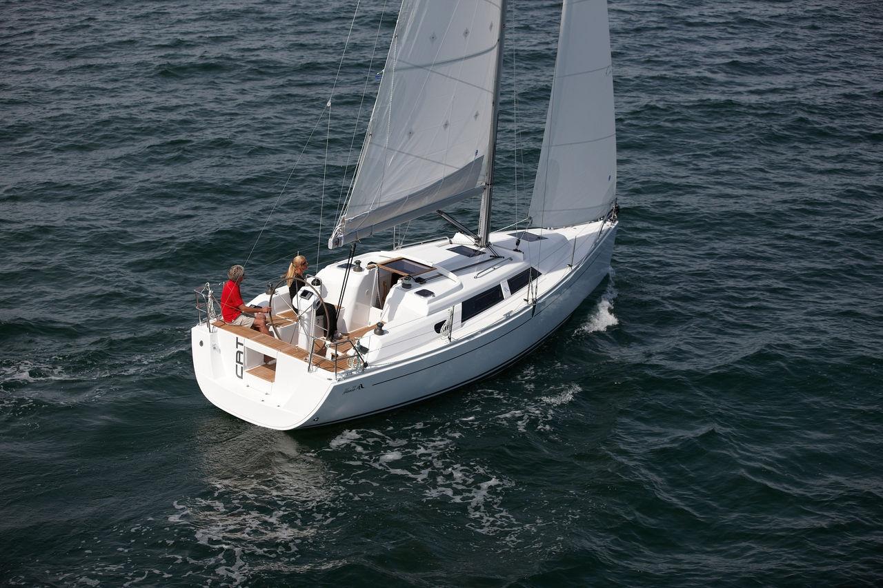 Парусная яхта Hanse 325