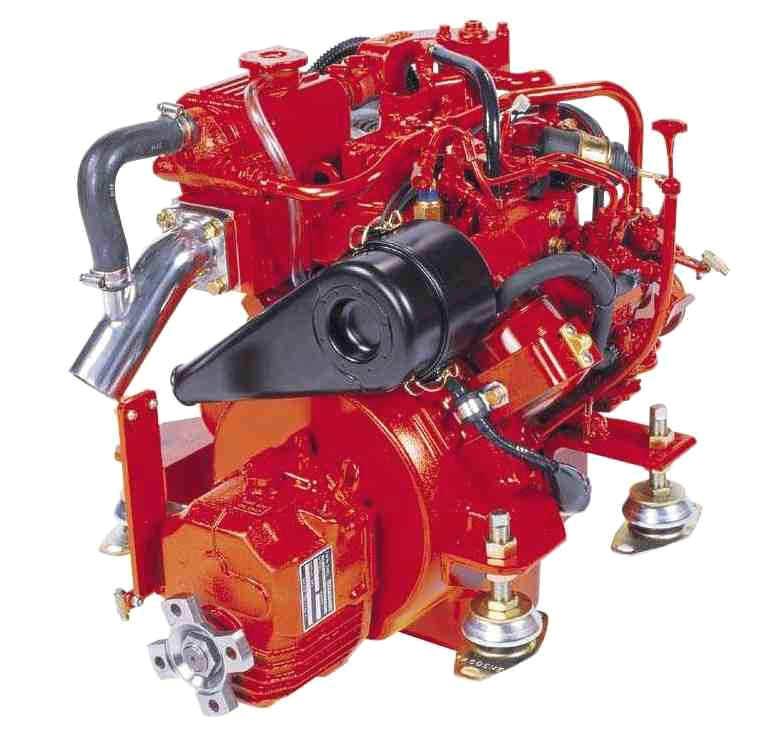 Судовой дизельный двигатель Beta Ten