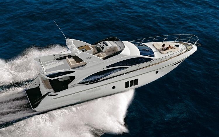 Моторная яхта Azimut 58