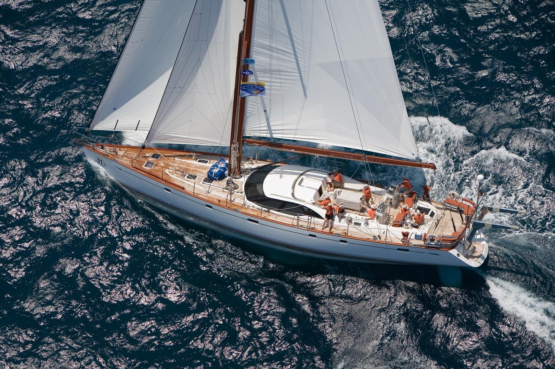 Парусная яхта Oyster 72
