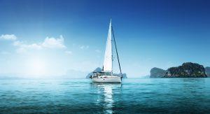 жизнь на яхте в море