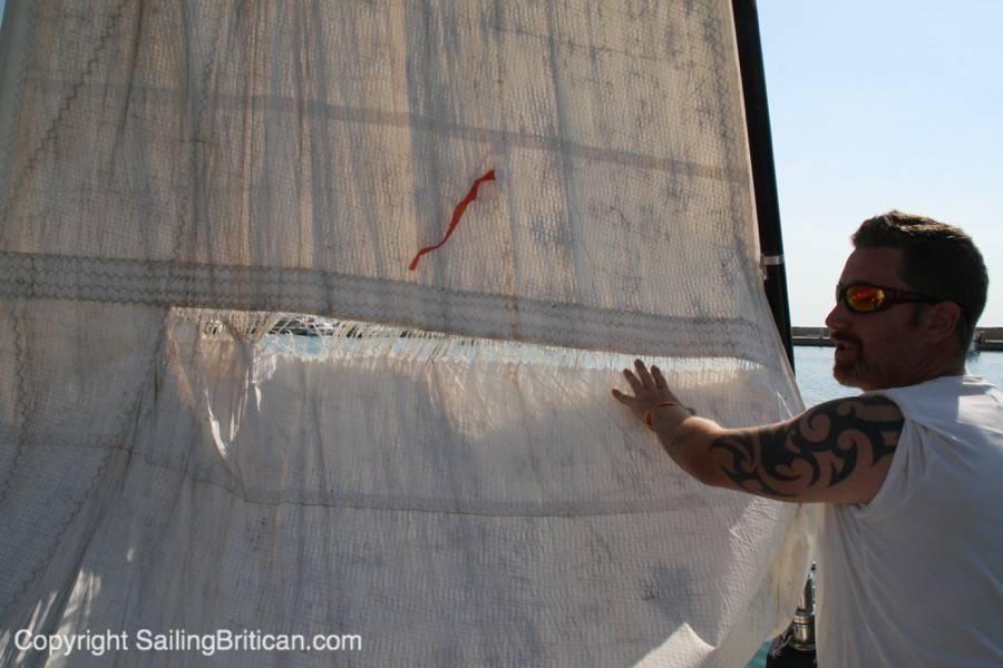 парусная яхта фото