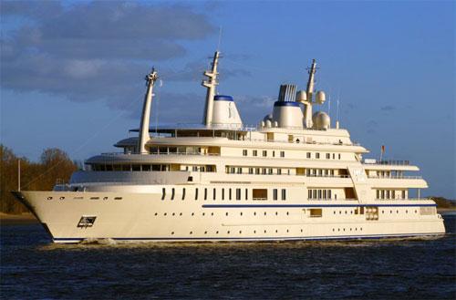 дорогие яхты мира - яхта Аль-Саид
