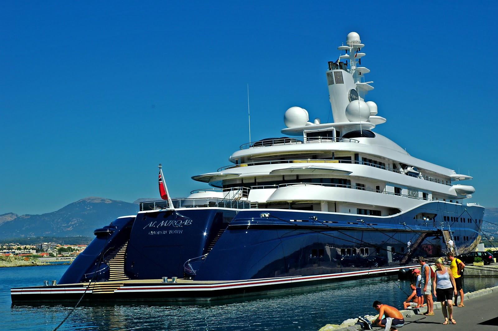 дорогие яхты мира - яхта Аль Мирхаб