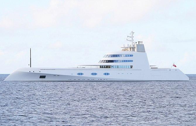дорогие яхты мира - яхта А