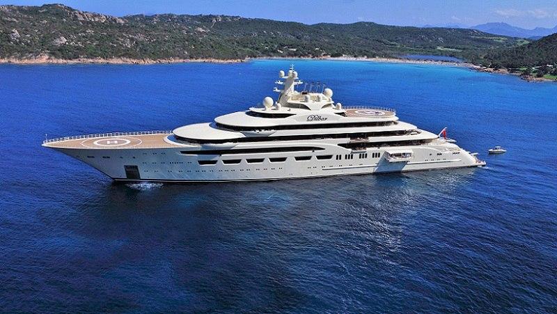 дорогие яхты мира - яхта Дилбар