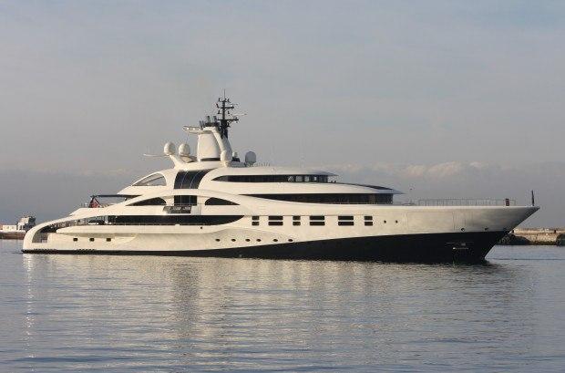 дорогие яхты мира - яхта Палладиум