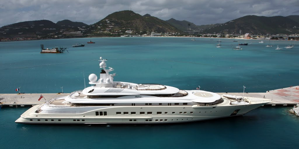 дорогие яхты мира - яхта Пелорус