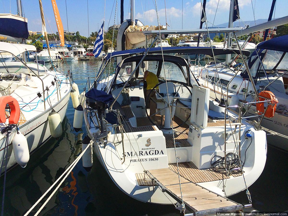 Стоимость аренды яхты в Греции