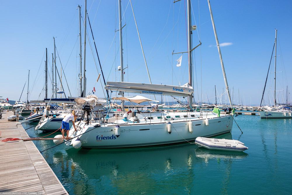 Стоимость аренды яхты в Хорватии