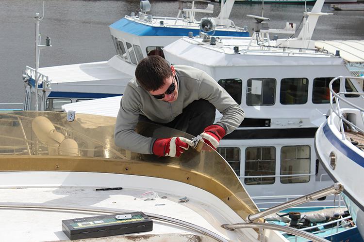 яхта бу ремонт