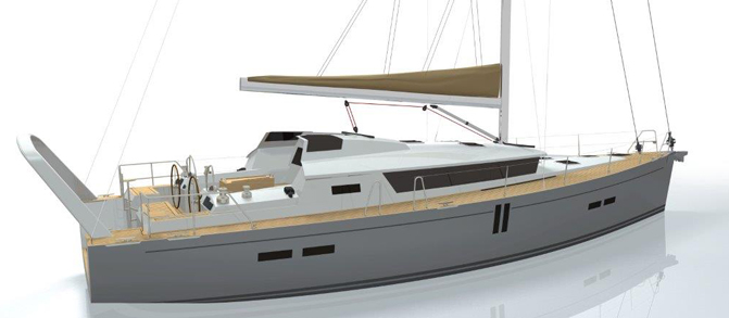 Парусная яхта Garcia 64СС