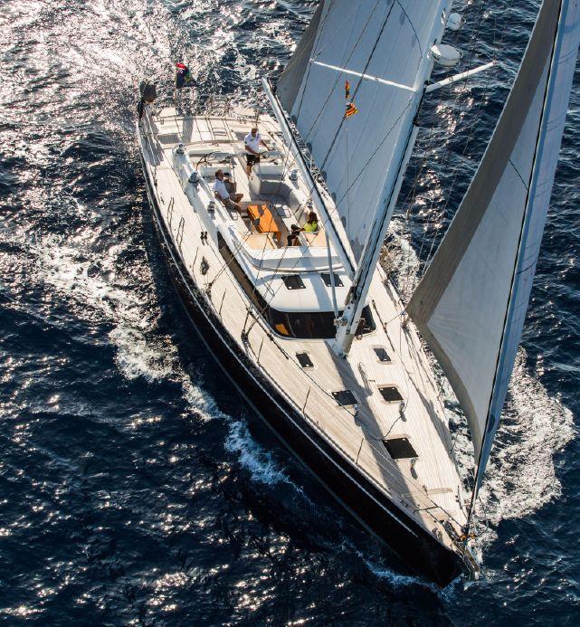 Парусная яхта Contest 62CS