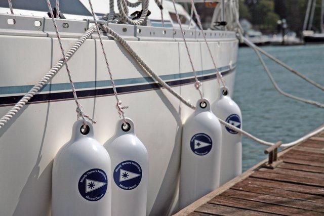 кранцы на яхте