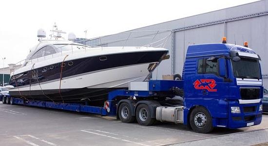 перевозка яхты