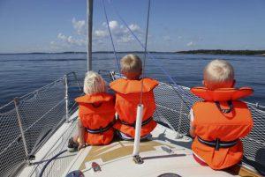 путешествие на яхте с детьми